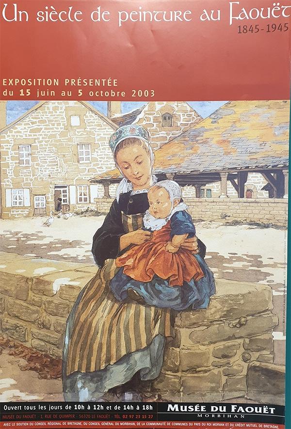 Un siècle de peinture au Faouët, 1845-1945