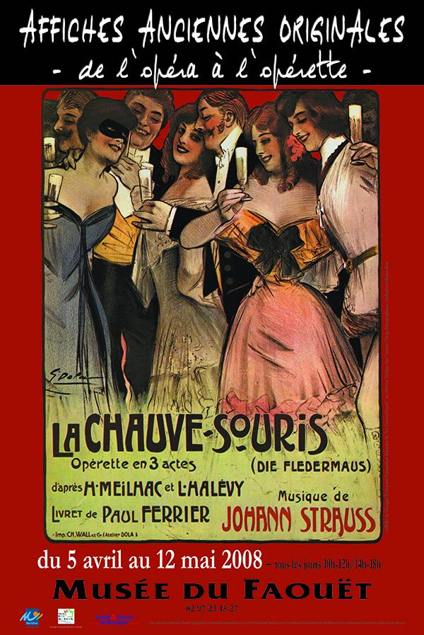 Affiches anciennes originales – De l'opéra à l'opérette