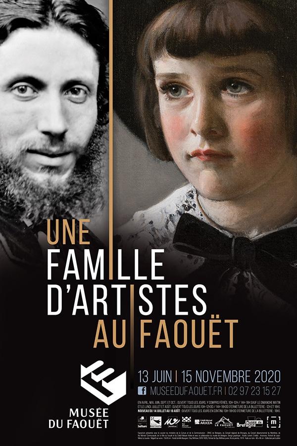 Une famille d'artistes au Faouët