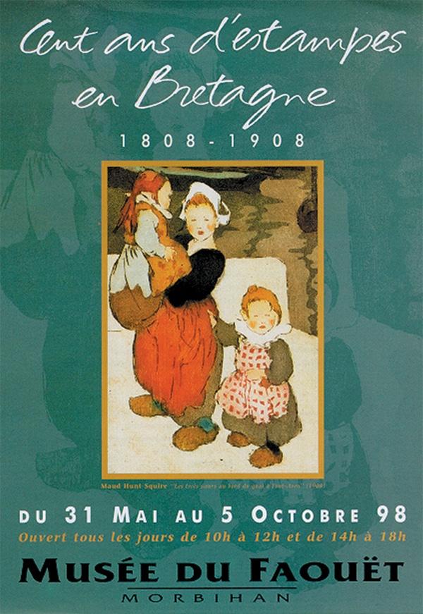 Cent ans d'estampes en Bretagne 1808-1908