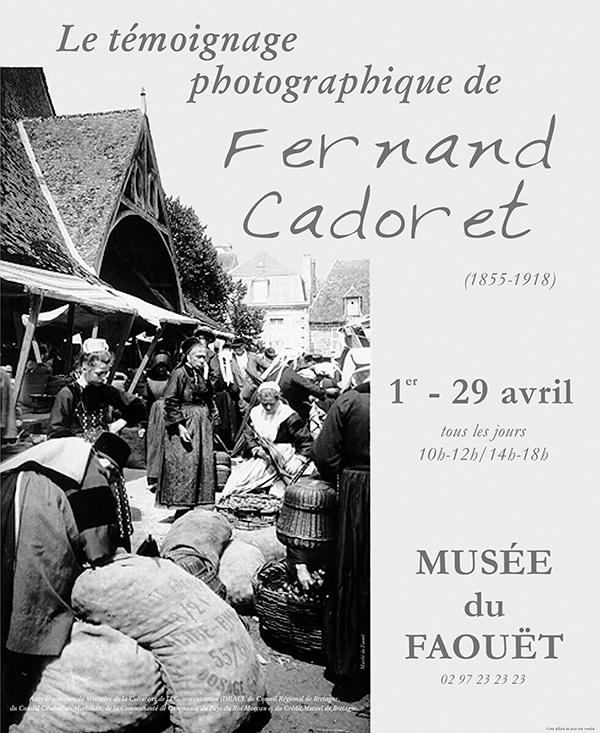 Le témoignage photographique de Fernand Cadoret (1855-1918)