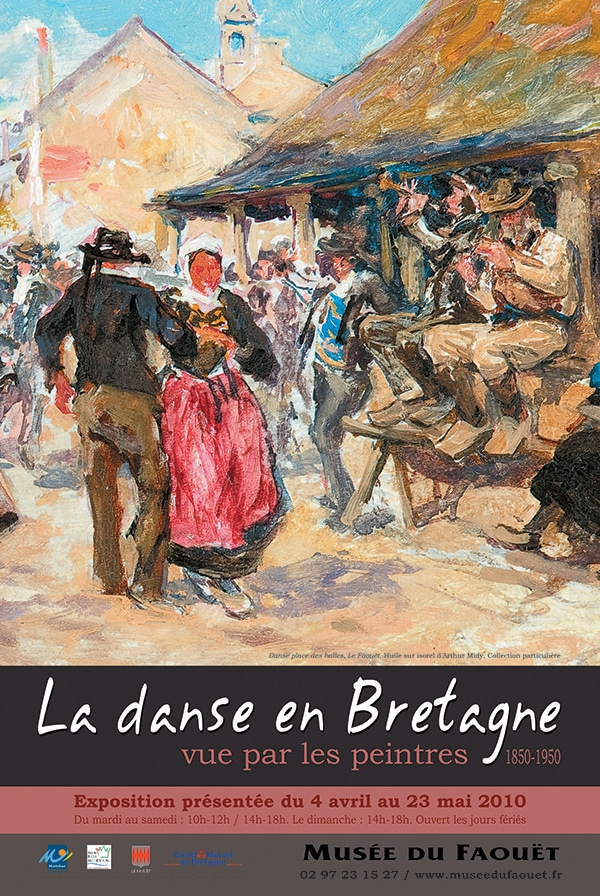 La danse en Bretagne vue par les peintres