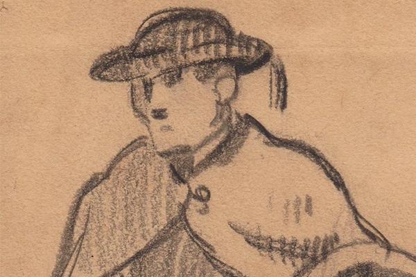 Acquisition d'un fusain de J.-B. Pégot-Ogier
