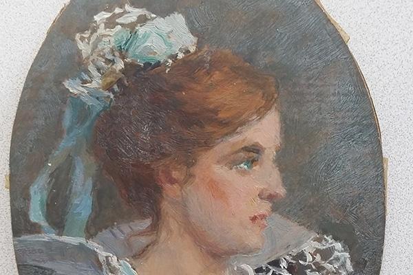 Acquisition d'un portrait signé Pierson